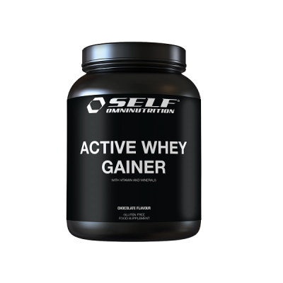 SELF OMNINUTRITION ACTIVE WHEY GAINER 2KG CHOCOLATE