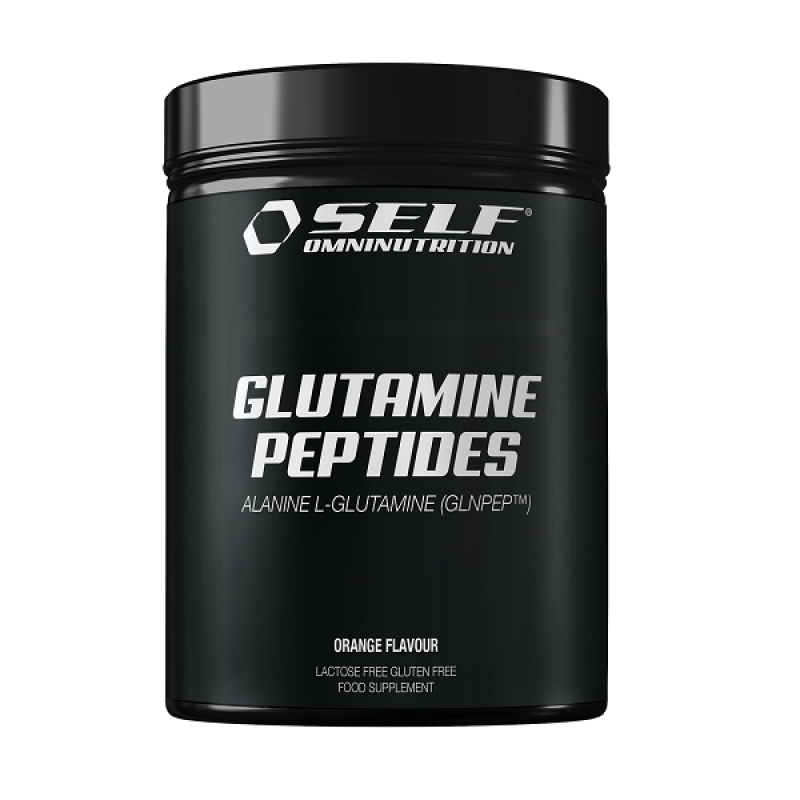 SELF OMNINUTRITION GLUTAMINE PEPTIDES 300GR ORANGE FLAVOUR