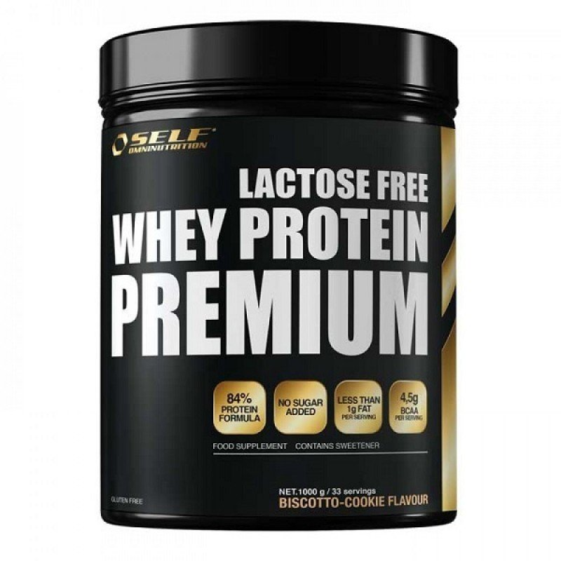 SELF OMNINUTRITION MICRO WHEY ACTIVE LACTOSE FREE 1kg BISCOTTO-COOKIE