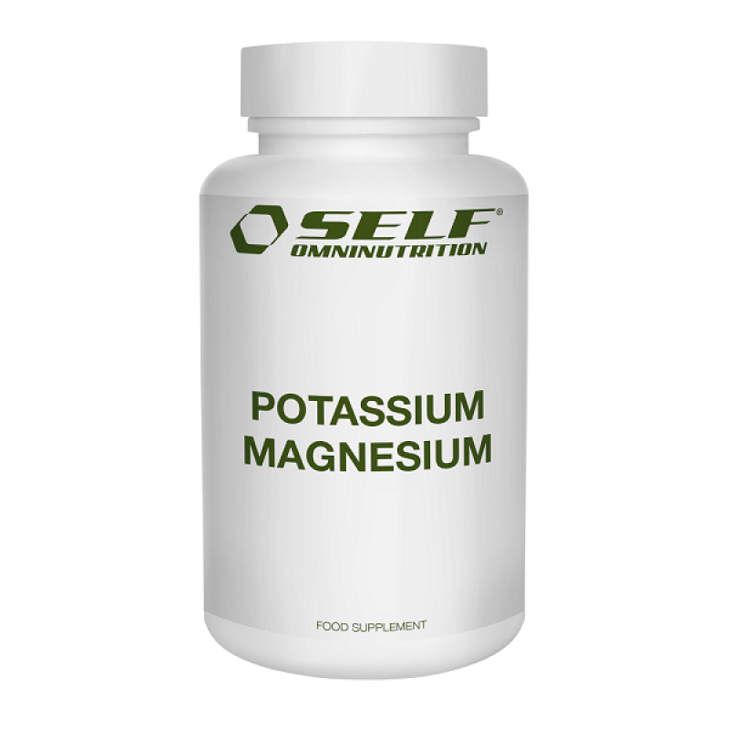 SELF OMNINUTRITION POTASSIUM-MAGNESIUM 120CPS