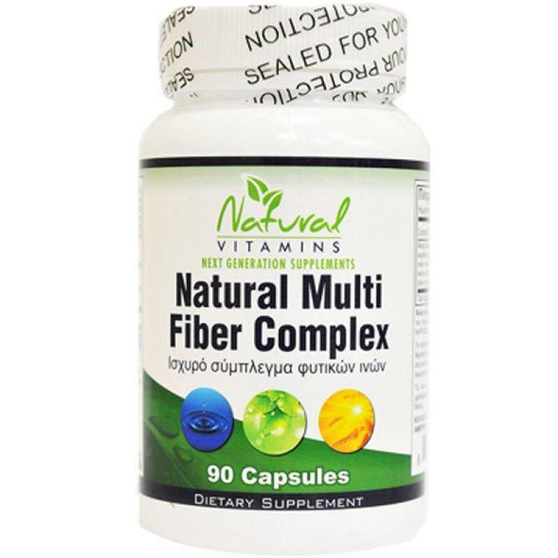 NATURAL VITAMINS NATURAL FIBER COMPLEX 90 CAPS