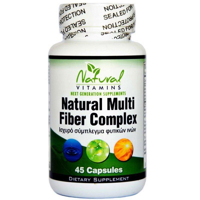 NATURAL VITAMINS NATURAL MULTI FIBER COMPLEX 45 CAPS