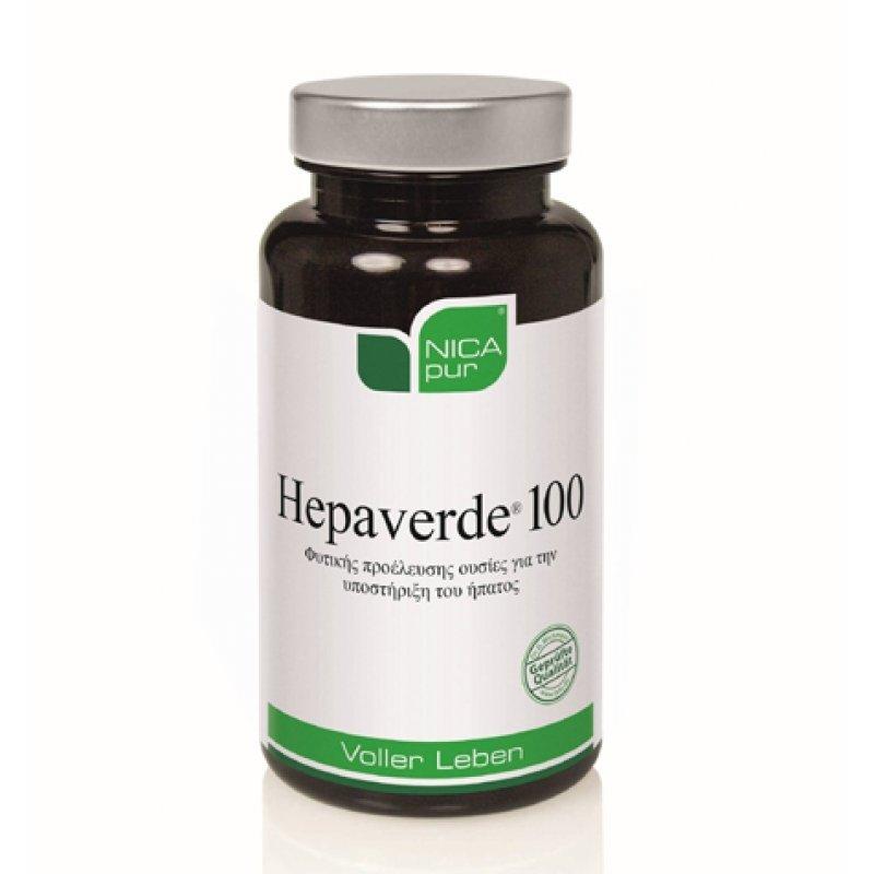 NICAPUR HEPAVERDE 100 60TABS
