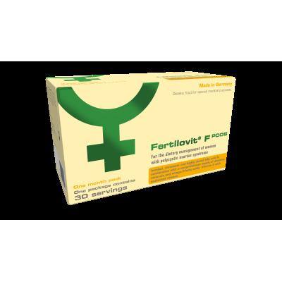 FERTILOVIT F PCOS ONE MONTH PACK(30 VITAMIN CAPS & 30 OMEGA 3 CAPS & 30 SACHETS)