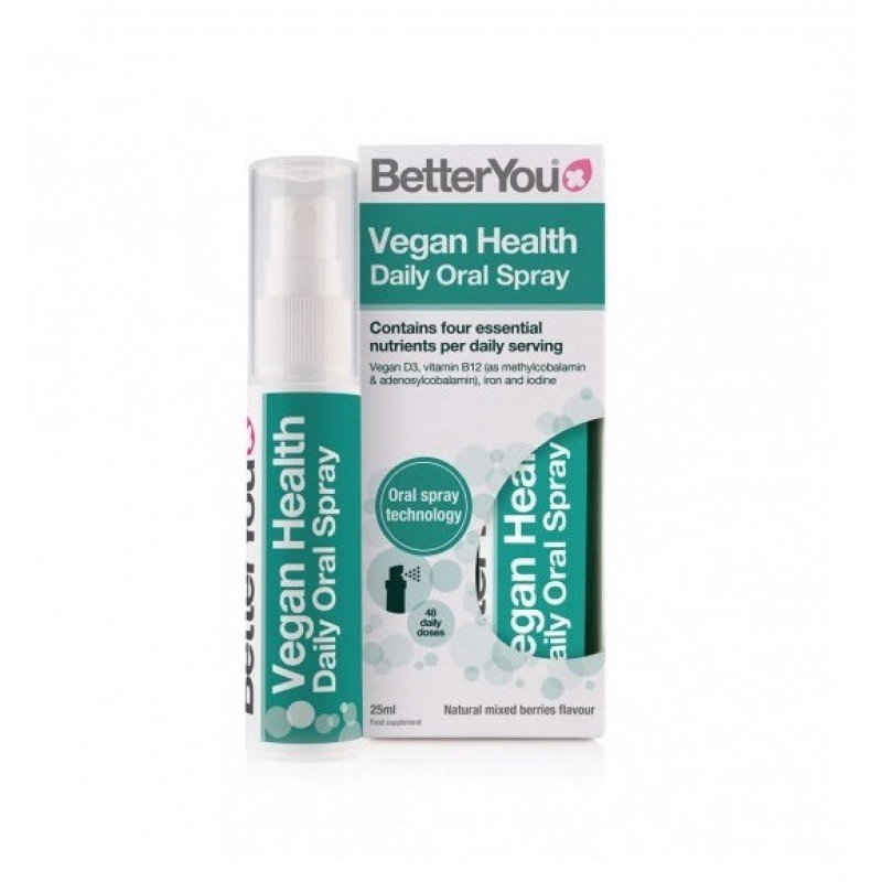 BETTER YOU VEGAN HEALTH ORAL SPRAY 25ML 192 ΨΕΚΑΣΝΜΟΙ