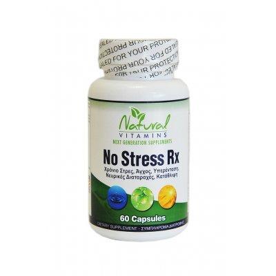 NATURAL VITAMINS NO STRESS RX 60CAPS