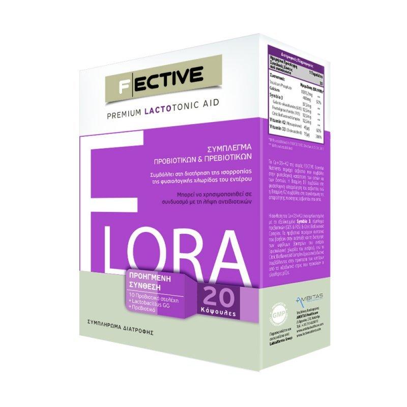 F ECTIVE LACTOTONIC FLORA 20 CAPS
