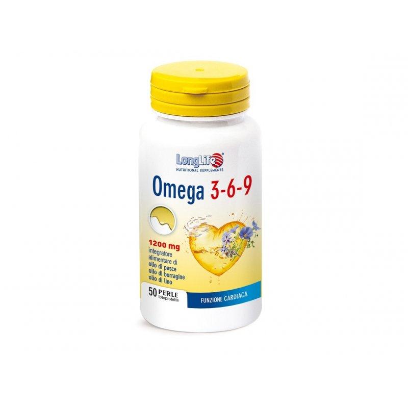 LONGLIFE Omega 3-6-9 1200mg 50softgel