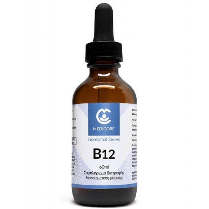 MEDICORE LIPOSOMAL VITAMIN B12 - VANILLA/APRICOT FLAVOR 60ML